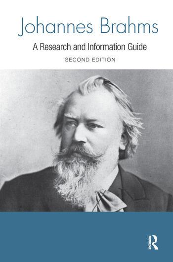 Johannes Brahms book cover