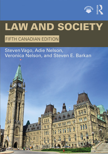 Law and Society: Canadian Edition, 5th Edition (Paperback