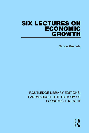Six Lectures on Economic Growth book cover