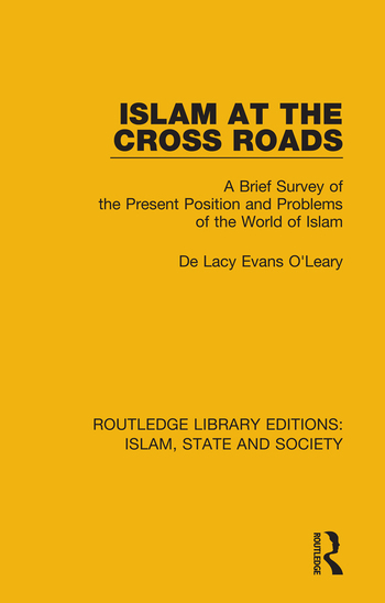 Islam at the Cross Roads A Brief Survey of the Present Position and Problems of the World of Islam book cover