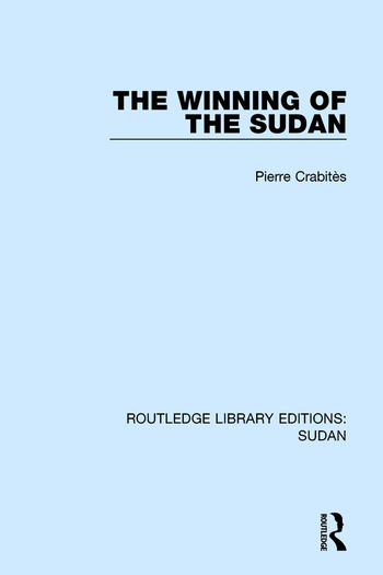 The Winning of the Sudan book cover