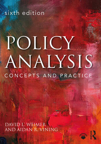 Policy Analysis Concepts and Practice book cover