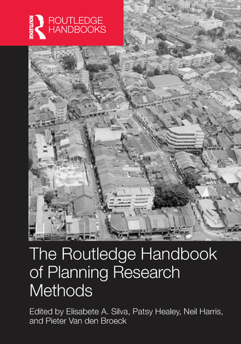 The Routledge Handbook of Planning Research Methods book cover