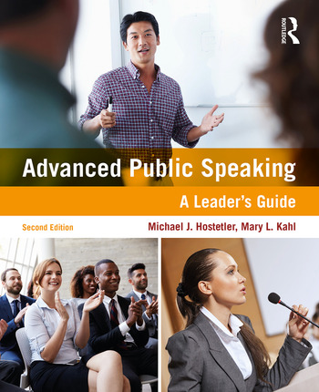 Advanced Public Speaking A Leader's Guide book cover