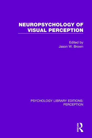 Neuropsychology of Visual Perception book cover