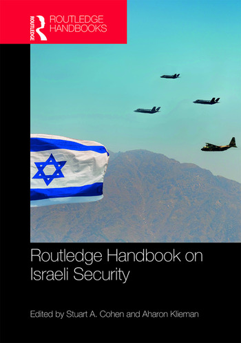 Routledge Handbook on Israeli Security book cover