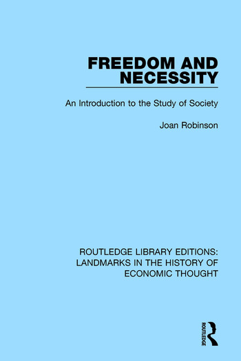 Freedom and Necessity An Introduction to the Study of Society book cover