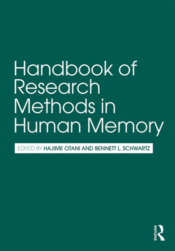 Handbook of Research Methods in Human Memory book cover