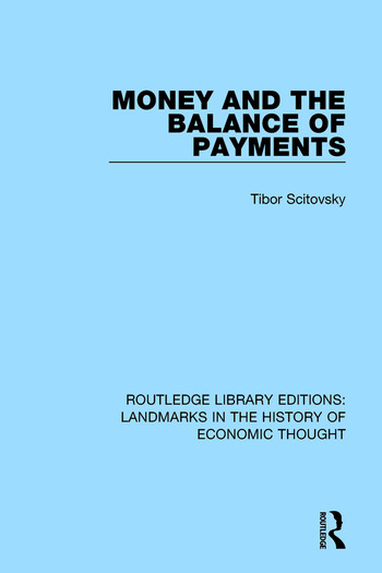 Money and the Balance of Payments book cover