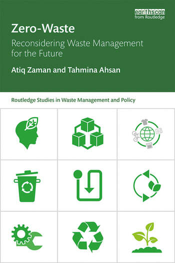 Zero-Waste Reconsidering Waste Management for the Future book cover