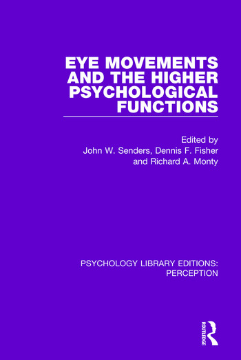 Eye Movements and the Higher Psychological Functions book cover
