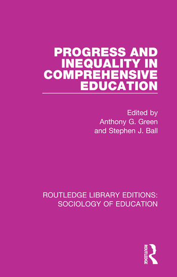 Progress and Inequality in Comprehensive Education book cover