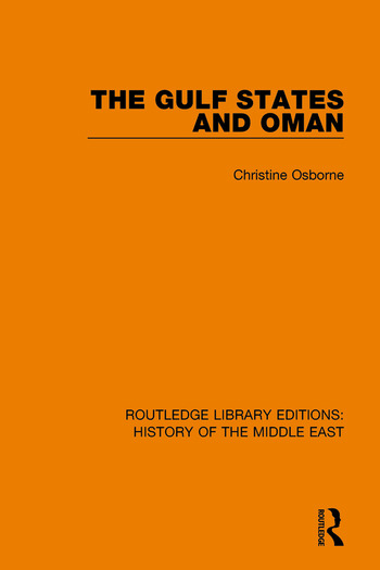 The Gulf States and Oman book cover