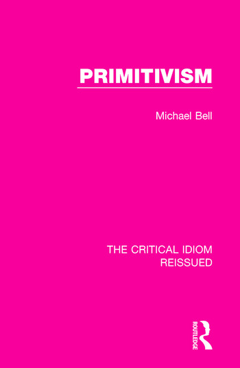 Primitivism book cover