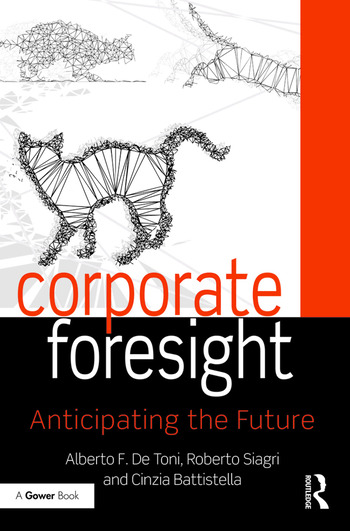 Corporate Foresight Anticipating the Future book cover