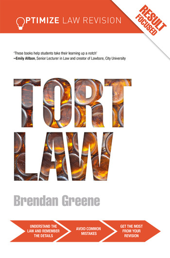 Optimize Tort Law book cover
