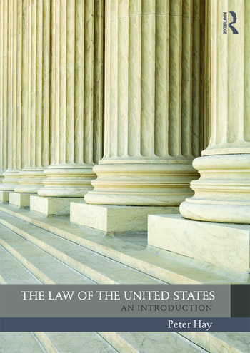The Law of the United States An Introduction book cover