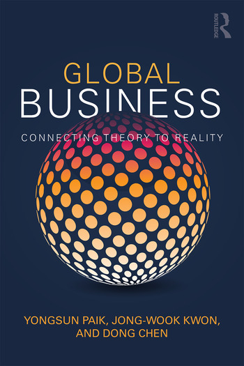 Global Business Connecting Theory to Reality book cover