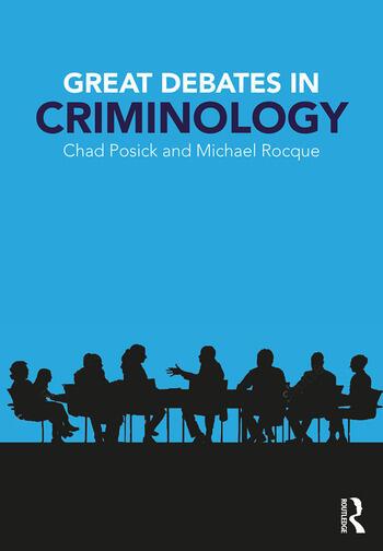 Great Debates in Criminology book cover