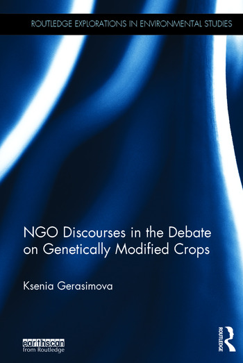 NGO Discourses in the Debate on Genetically Modified Crops book cover