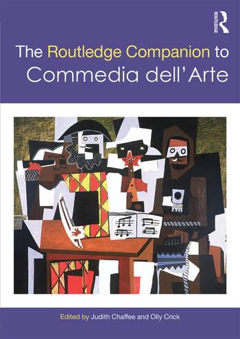 The Routledge Companion to Commedia dell'Arte book cover