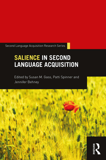 Salience in Second Language Acquisition book cover
