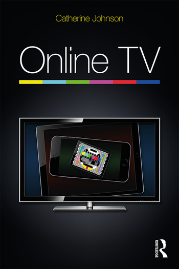 Online TV book cover