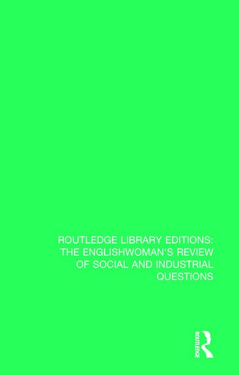 The Englishwoman's Review of Social and Industrial Questions 1899 book cover