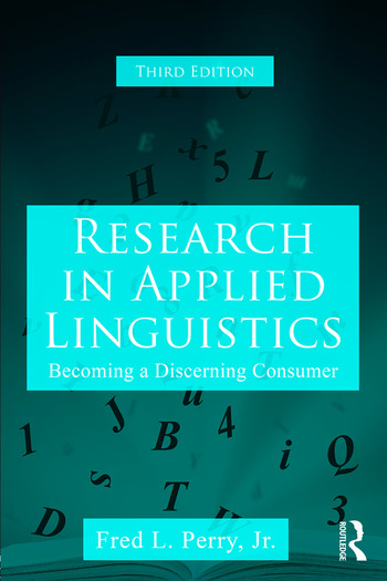 Research in Applied Linguistics Becoming a Discerning Consumer book cover