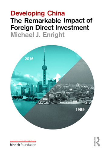 Developing China: The Remarkable Impact of Foreign Direct Investment book cover