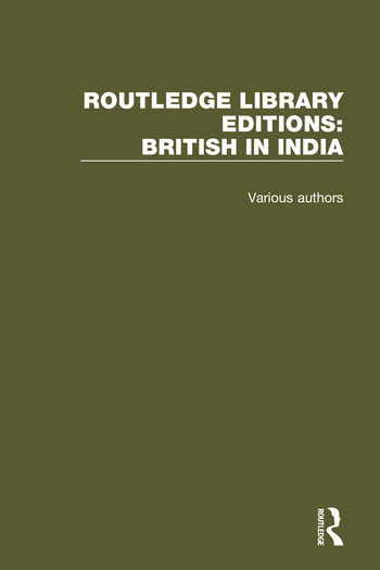 Routledge Library Editions: British in India book cover