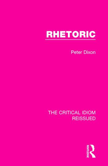 Rhetoric book cover