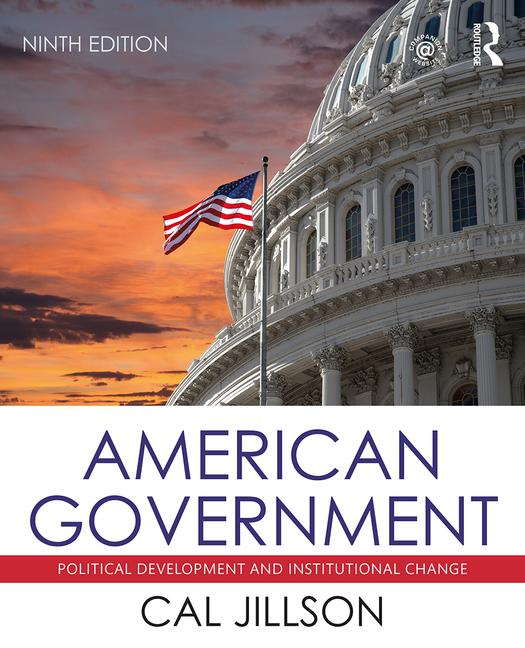 American Government Political Development and Institutional Change book cover