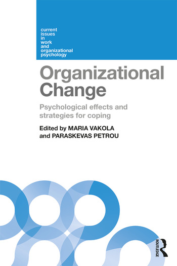 Organizational Change Psychological effects and strategies for coping book cover