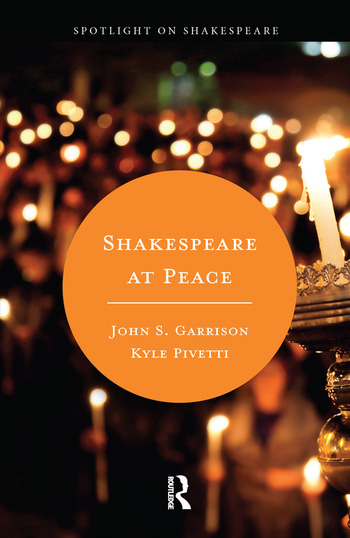 Shakespeare at Peace book cover