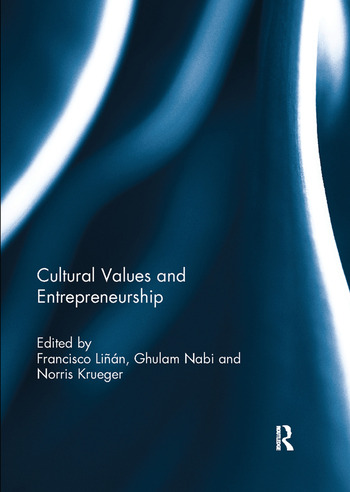 Cultural Values and Entrepreneurship book cover