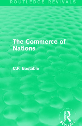 Routledge Revivals: The Commerce of Nations (1923) book cover