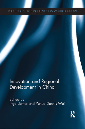 Innovation and Regional Development in China book cover