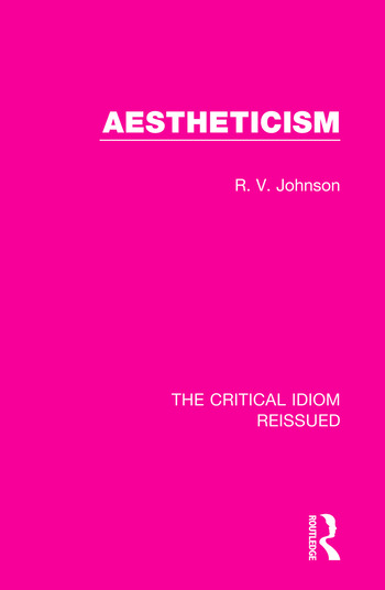 Aestheticism book cover