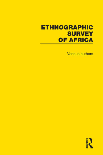 Ethnographic Survey of Africa book cover