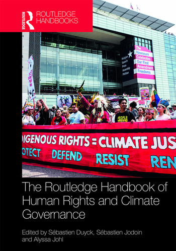 Routledge Handbook of Human Rights and Climate Governance book cover