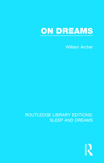 On Dreams book cover