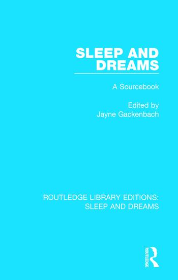 Sleep and Dreams A Sourcebook book cover