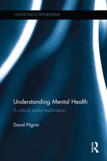 Understanding Mental Health A critical realist exploration book cover