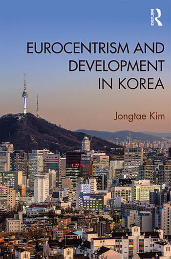 Eurocentrism and Development in Korea book cover