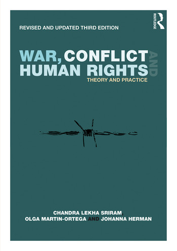 War, Conflict and Human Rights Theory and Practice book cover