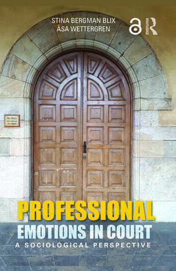 Professional Emotions in Court A Sociological Perspective book cover
