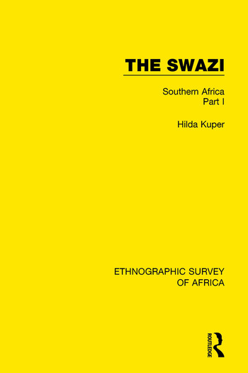 The Swazi Southern Africa Part I book cover