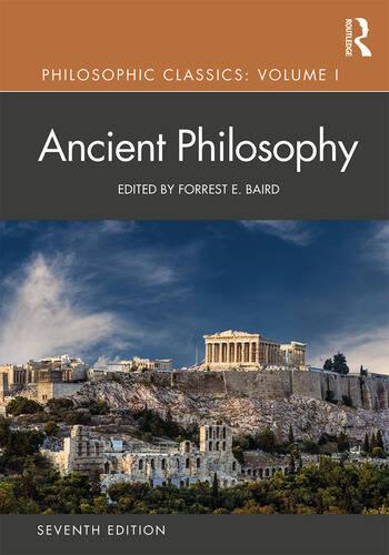 Philosophic Classics: Ancient Philosophy, Volume I book cover