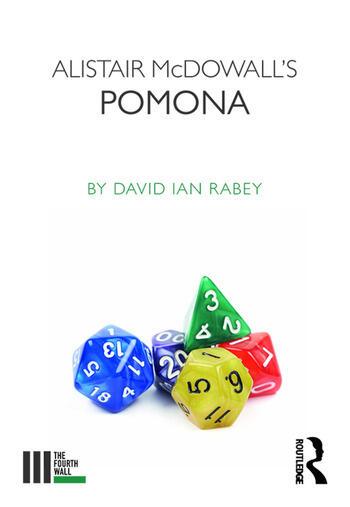 Alistair McDowall's Pomona book cover